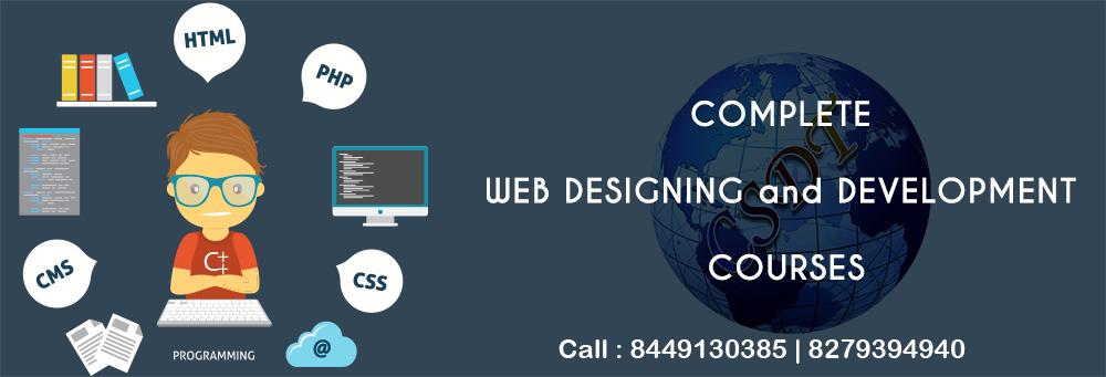 web designing institute meerut